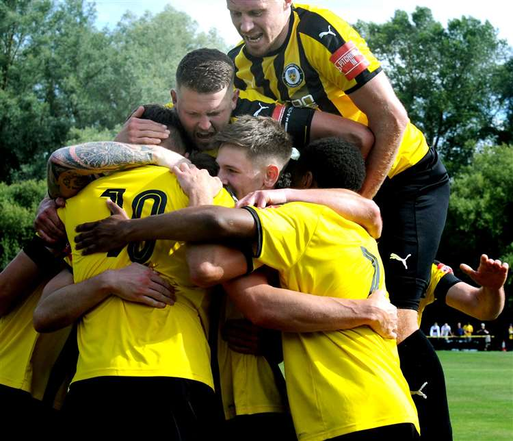 Stowmarket Town vs Canvey Match Report
